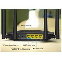 For Tenda AC5 High Power 1200M Dual Band 5G Gigabit Wireless WIFI Router Home Telecom Wideband