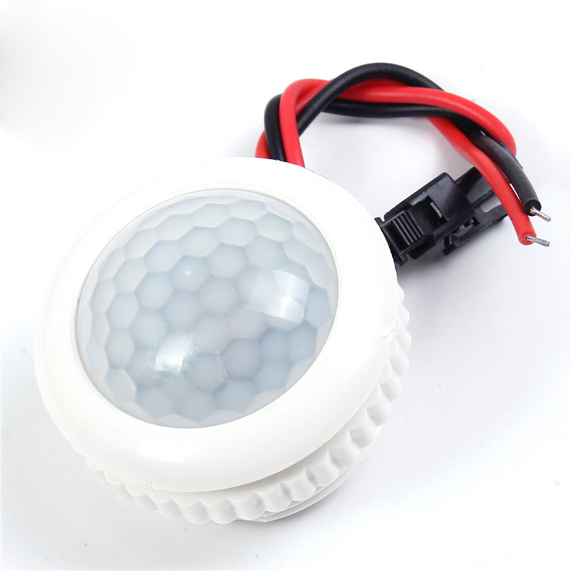 220V 50HZ PIR Smart Sensor Detector IR Infrared LED Lamp Switch Light Control Ceiling Module Motion Sensor 3-6m Detection