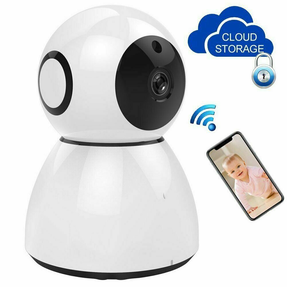 1080P HD Wireless Wifi IP Camera IR Security Webcam Baby Monitor CAM Pan Tilt UK1080P HD Wireless Wifi IP Camera IR Security Webcam Baby Monitor CAM Pan Tilt UK