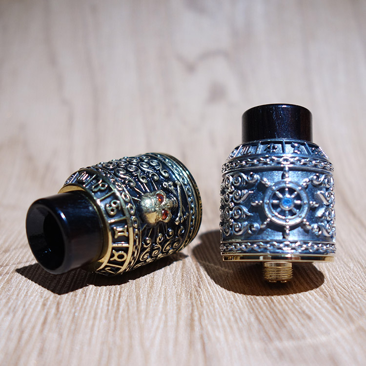 original squonk bf rda  riscle pirate king V2 rebuilding atomizer 24mm for bf mod electronic cigarette mech mod