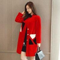 Coat female jacket women's jacket fur coat Sheepskin coat Women's winter jackets real fur women's fur coats winter