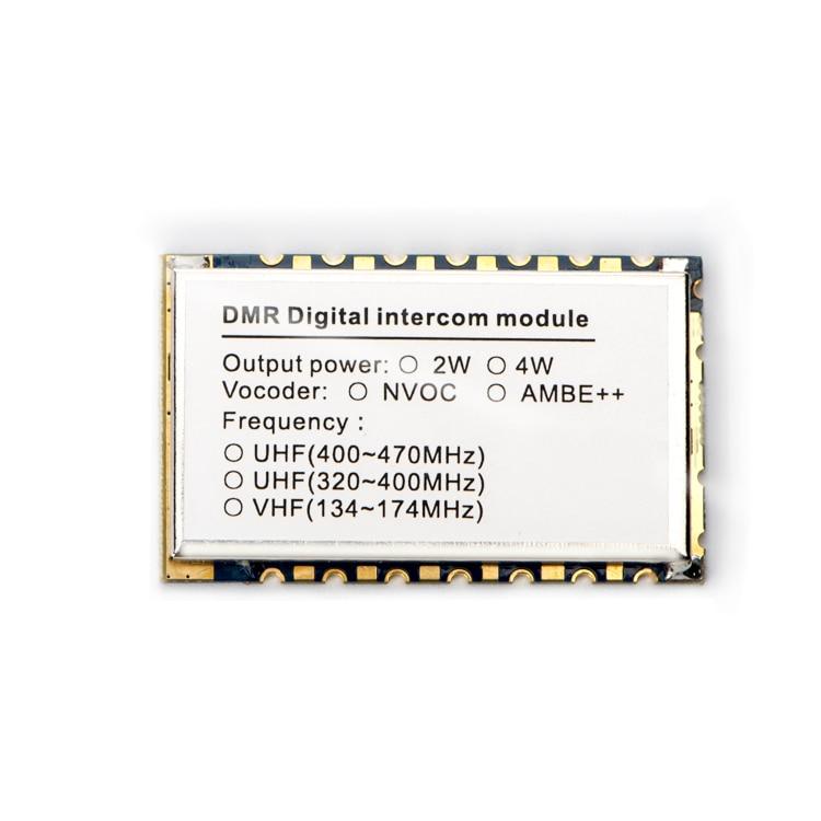 Radio móvil Digital DMR818 AMBE, 2 unidades por lote, UHF, VHF, 2W, 6 ~ 8Km, transceptor DMR wakie Controlador de red de 12 canales IO, modo esclavo maestro Modbus RTU, relé Anolog Digital, módem transceptor
