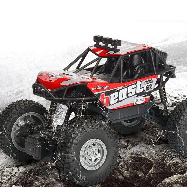 RC Voiture 1/20 4WD 2.4 Ghz télécommande Électrique jouets RC voiture pour enfants Bigfoot Monstre Escalade De Voiture Hors Route Jouets Enfants Surprise cadeaux