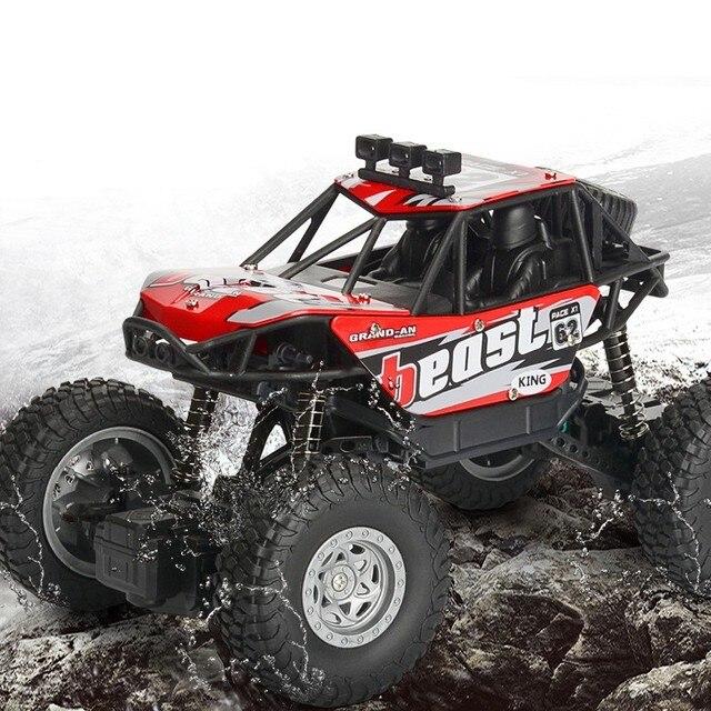 RC voiture 1/20 4WD 2.4 Ghz télécommande électrique Rc jouets enfants voiture Bigfoot monstre escalade voiture tout-terrain jouets enfants Surprise cadeaux