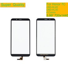 10Pcs/lot For Huawei Honor 7C LND-AL30 LND-AL40 Touch Screen Touch Panel Sensor Digitizer Front Glass Touchscreen NO LCD 5.99