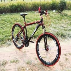 Górski kraj pojazd rowerowy podwójny hamulec tarczowy amortyzacja aktywność styl rowerowy prezent 21 prędkości Student