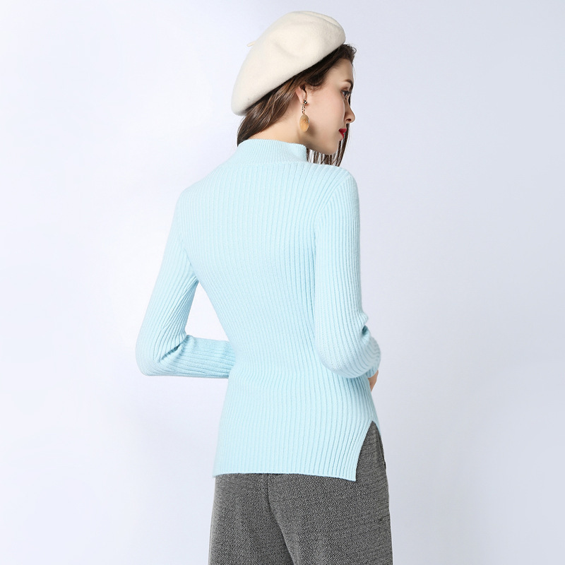 Woman Long Sleeve Autumn And Spring thickness Pullover slimming Rendering Sweater feminino 1808