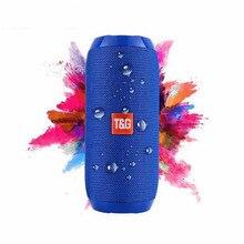 Waterproof Bluetooth Speaker Portable outdoor Rechargeable Wireless Speakers Soundbar Subwoofer Loudspeaker TF MP3 Built-in Mic недорого