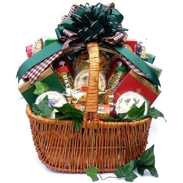 Gift Basket Village ACuAb-med A Cut Above Cheese And Sausage Gift Basket