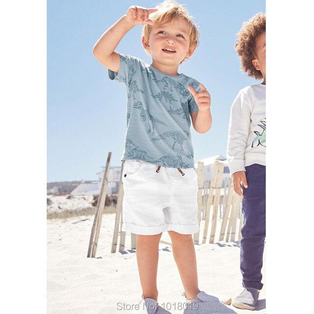 c4acfa3cc2 Qualidade 100% Algodão Roupa Dos Miúdos Conjuntos Meninos Roupas de Verão  do bebê Set Marca Novo 2019 Bebe Manga Curta Calças t-shirt Das Crianças  ternos