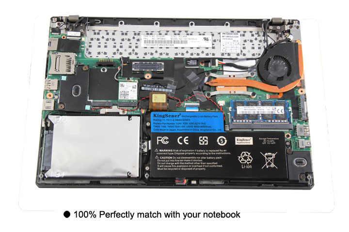 11,1 V 24WH KingSener nueva batería interna para Lenovo ThinkPad T440 T440S T450 T450S X240 X250 X260 X270 45N1110 45N1111 45N1112
