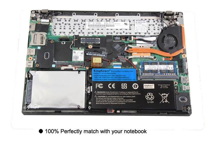 11.1 v 24WH KingSener Nouvelle Batterie Interne pour Lenovo ThinkPad T440 T440S T450 T450S X240 X250 X260 X270 45N1110 45N1111 45N1112 - 6