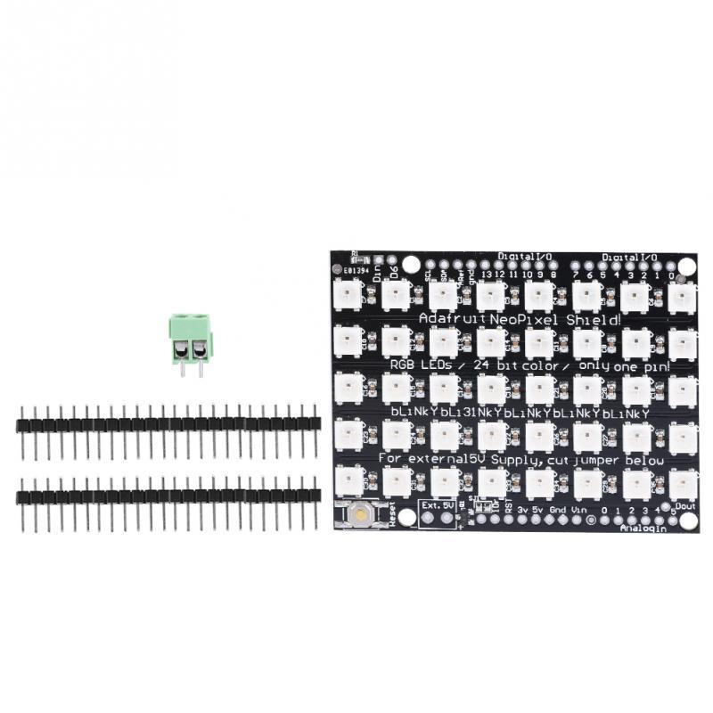 Accessories & Parts Consumer Electronics Leory 5v 64 Bit Ws2812 5050 Rgb Led Driver Development Board Circuit