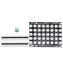 40 Bit Built-in Full-color RGB LED Flexible Panel Driver Development Board(China)