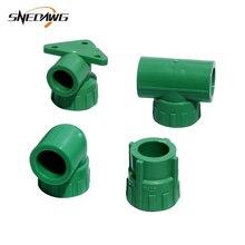 PPR штуцер для водопроводных труб с внутренней резьбой соединение для водопроводных труб 20/25 мм 1/2 ''3/4'' соединитель для водопроводных труб