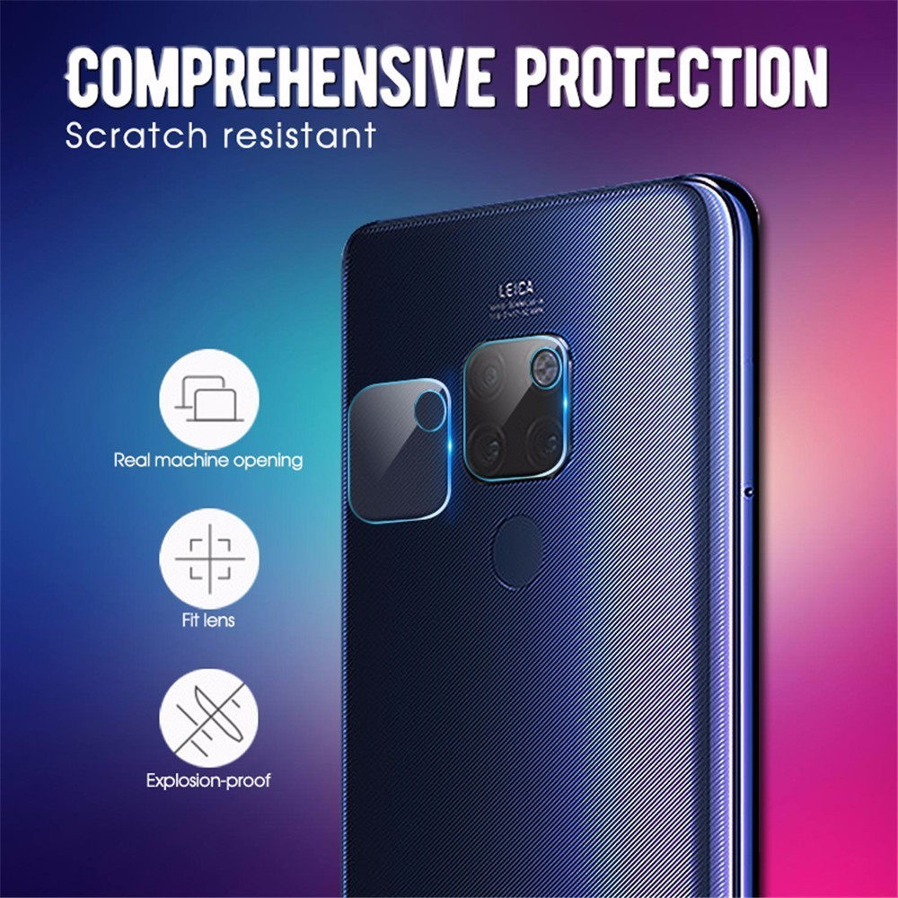 2PC Camera Lens Tempered Glass For Huawei Mate 20 Pro Screen Protector For Huawei Mate20 Mate 20 Lite 20 X Protection Film in Phone Screen Protectors from Cellphones Telecommunications
