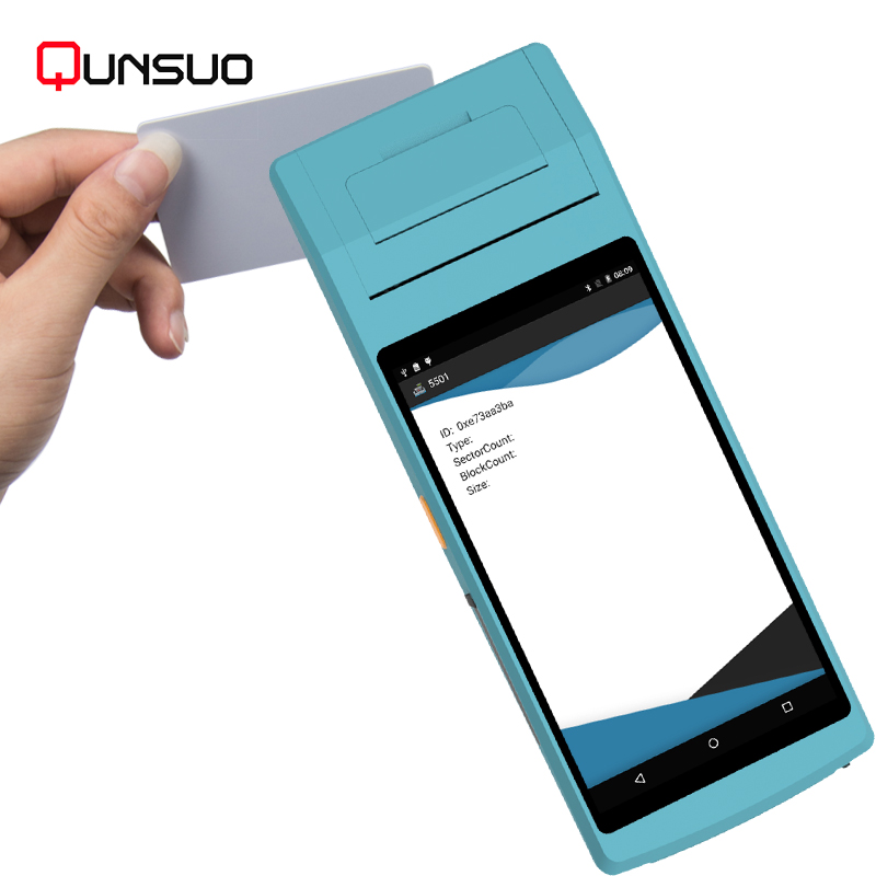 US $135 0 |loyverse pos software 58mm android 6 0 support barcode scanner  wifi 3g bluetooth NFC Pos printer-in Scanners from Computer & Office on