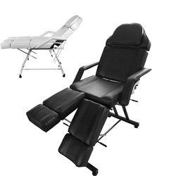Panana cama de masaje profesional Silla de peluquero de belleza Facial sofá cama taburete para salón de terapia de tatuaje cojín extraíble blanco