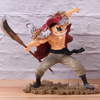 Edward Newgate SC Whitebeard Action Model Toy One Piece Anime PVC Collectible Figure 20th Scultures The Tag Team 22.5cm