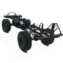 RCtown 313mm 12.3in Wheelbase Assembled Frame Chassis for 1/10 RC Crawler Car SCX10 SCX10 II 90046 90047
