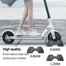 06MM 0.8MM 1.2MM Shock Pad for M365 Scooter Rubber Shock Absorber Damping Scooter Folding Rubber Silicone Shock Pad Cushion стоимость