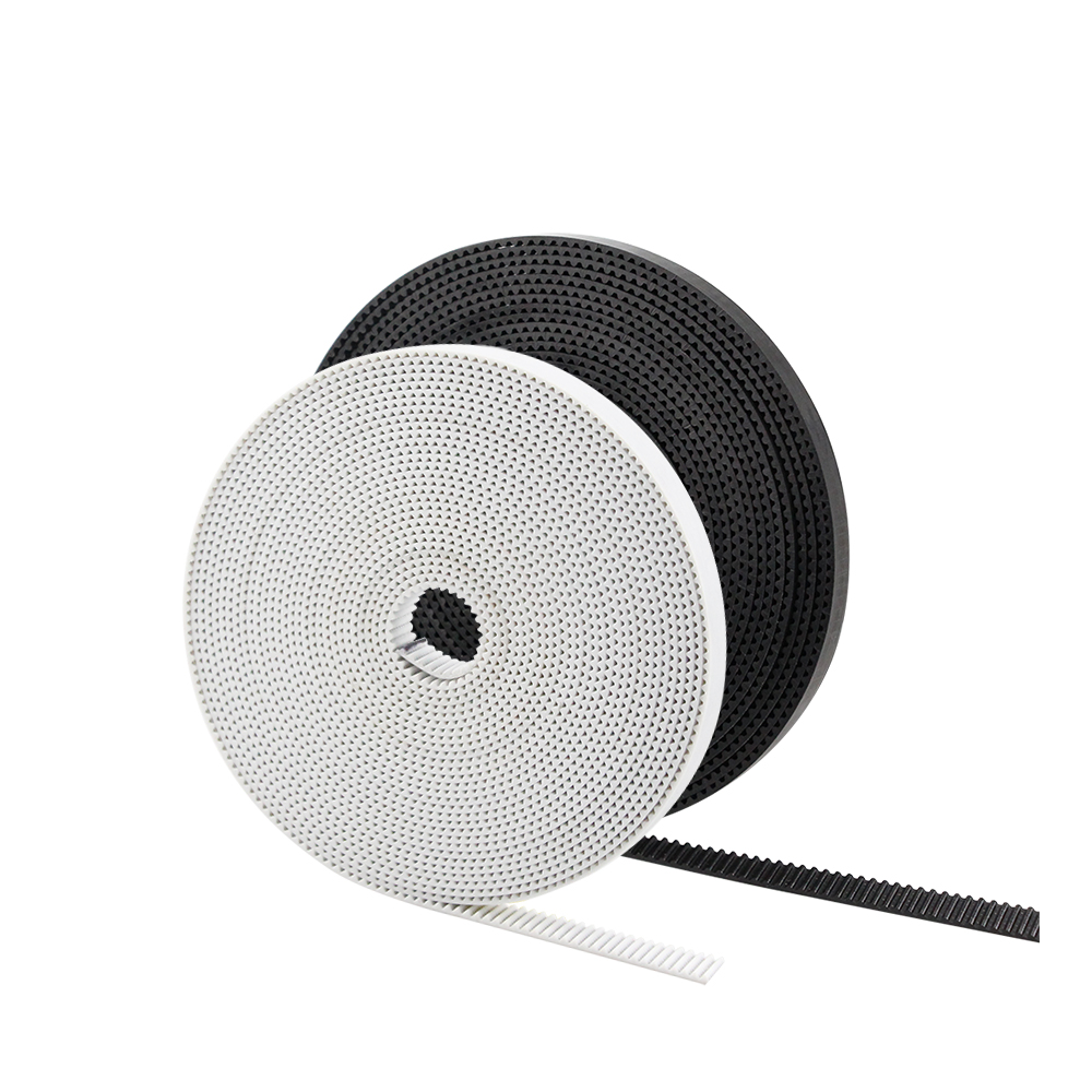 5M 10M/Lot GT2 6mm Belt With PU Steel Core 2GT 6mm Width Belt Top Quality For 3D Printer White And Black