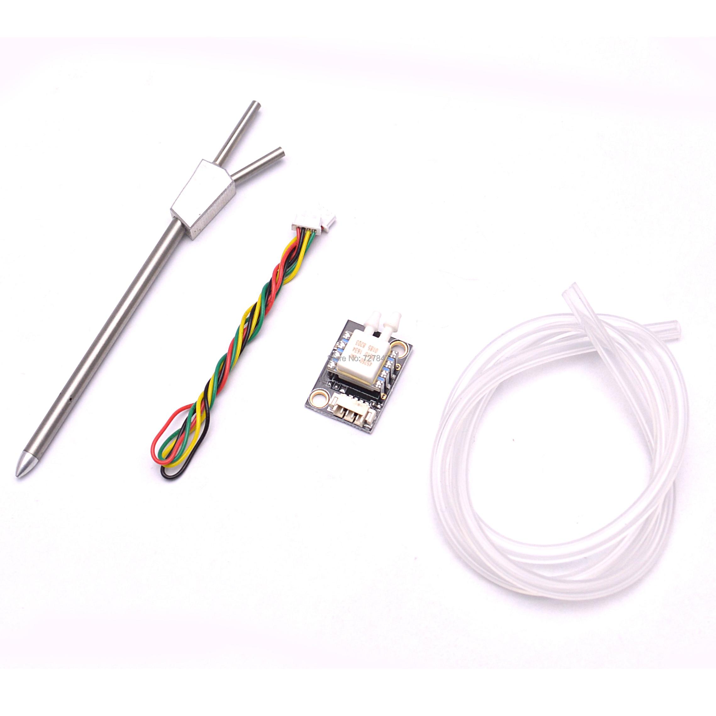 Pixhawk PX4 Diferencial Sensor de Velocidade Do Ar Cabeça Tubo de Pitot Airspeedometer para PX4 PIXHAWK 2.4.8/2.4.7 Piloto Automático Controlador de Vôo