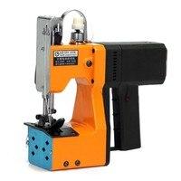 Высокое качество 220 В Портативный электрические швейные машины для тканые Бумага мешок шить Быстрая доставка