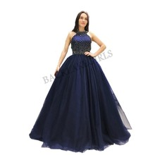 Amazing Navy Blue Prom Dresses Evening Dress Party Gown