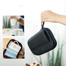 Sale Lovely Anime Animal Ceramic Portable Travel Mug Set With Tea Infu