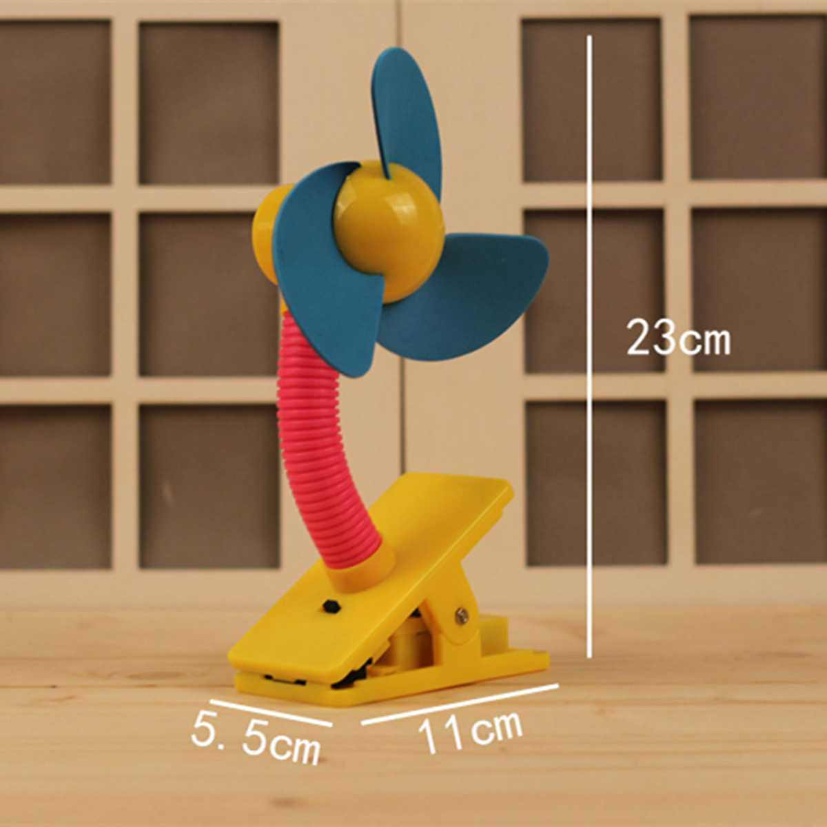 Mini Mute พัดลมแบบชาร์จไฟได้สำหรับรถเข็นเด็กทารกพัดลมแบบพกพา Cooling Table Fan ความปลอดภัยคลิป - บนรถเข็นเด็กอุปกรณ์เสริม