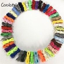Coolstring 5 мм круглый полиэстер индивидуальные шнурки зеленый темно-синий модные шнурки для обуви очень длинный, унисекс для женщин и мужчин