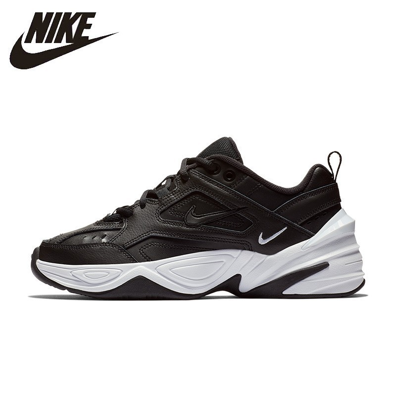 Nike Official M2k Tekno New Arrival Woman Running Shoes Breathable Comfortable Anti-slip Sneakers #AO3108