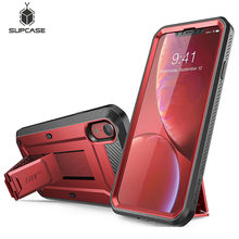 "Colorful Case For iPhone XR 6.1"" Case SUPCASE UB Pro Full Body Rugged Holster Cover with Built in Screen Protector & Kickstand"