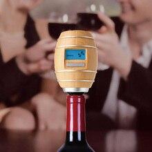 Умный кислородный декантерный насос аэратор в форме бочки, Электрический Графин для вина с ЖК-дисплеем, разливатель вина, кухонные барные инструменты