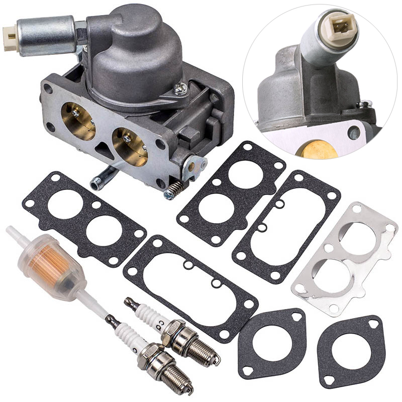 Carburetor Carb Gas Filter Replacement For Briggs+Stratton 25HP V Twin Models