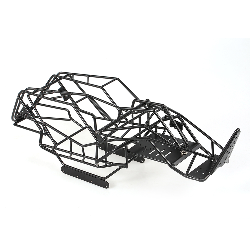 все цены на RC Car Metal Roll Cage Chassis Frame RC Cars Body for 1/10 Axial Wraith AX90018 90020 DIY Rock RC Crawler онлайн