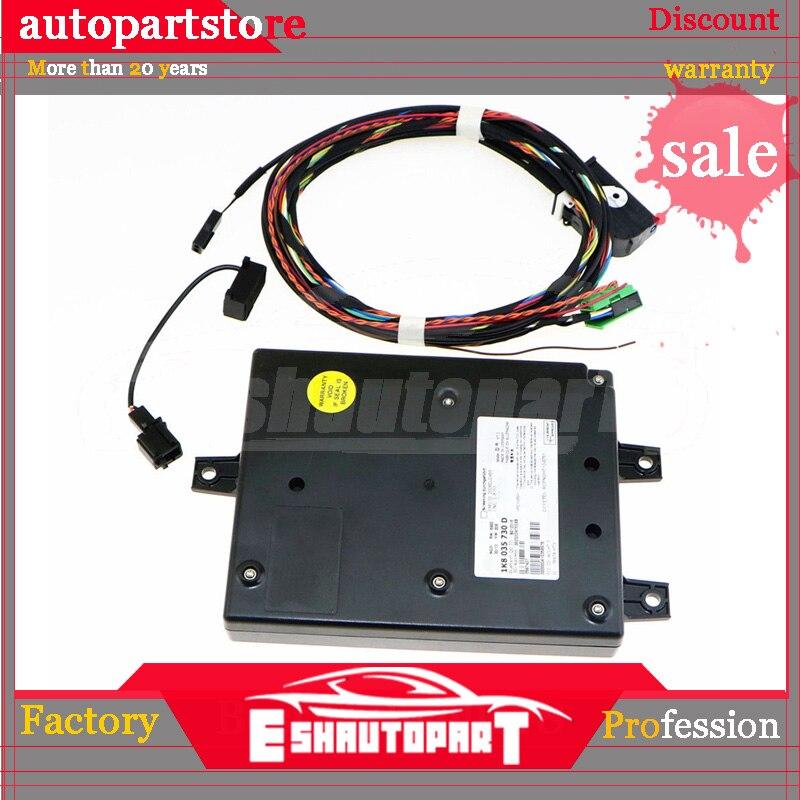 1K8 035 730 D 9W2 RCD510 1K8035730 Car Radio Bluetooth Module & Microphone Harness Cable Kit For VW Golf Mk6 Passat Tiguan