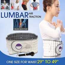 Спинальная воздушная тяга поясничная поддержка массажный пояс расслабляющий бандаж физио декомпрессия позвонка Массаж боли в спине