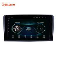 Seicane android автомагнитолы 2Din автомобильное радио с GPS навигации для 2005 2006 2012 Mercedes Benz ML Class W164 ML350 ML430 ML450 ML500