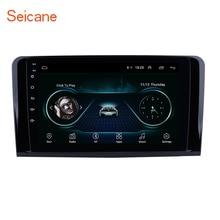 Seicane radio Multimedia con GPS para coche, Radio con reproductor, Android 9,1, 2DIN, navegador, para Mercedes Benz clase ML, W164, ML350, ML430, ML450, ML500, años 2005 a 2006