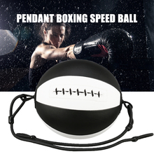 High quality Double End Speed Ball Pendant Boxing Training Punch Bag with Elastic Pull Rope