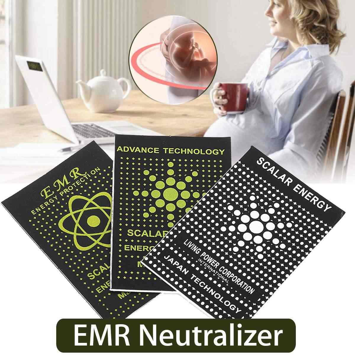10 pcs EMR Scalar Energy โทรศัพท์สติกเกอร์ป้องกันรังสีชิป Shield Keep Health แล็ปท็อป EMP EMF สำหรับตั้งครรภ์ผู้หญิง
