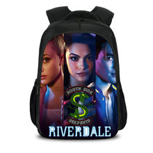Curel Fancl Riverdale South Side Serpents Backpack Shoulder Travel School Bag Bookbag for Teenagers Men Women Casual Laptop Bags(China)