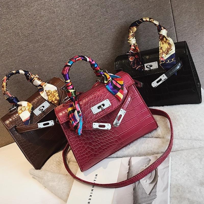 2019 Crossbody Bags For Women Leather Luxury Handbag Famous Designer Brand Bolsa Feminina Crocodile Shoulder Bag Ladies Sac Main2019 Crossbody Bags For Women Leather Luxury Handbag Famous Designer Brand Bolsa Feminina Crocodile Shoulder Bag Ladies Sac Main