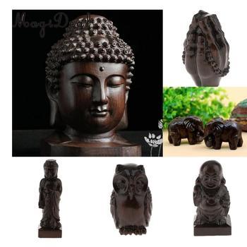Homyl, estatuilla decorativa de Buda chino, estatua budista para el hogar y la Oficina, decoración Fengshui, buena bendición