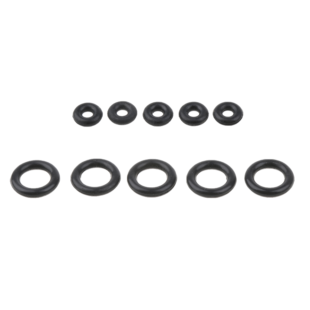 5 Pcs Rubber O Rings Seal Leak-proof Washers Camping Gas Tank Refilling Outdoor Cooking Stove Accessories
