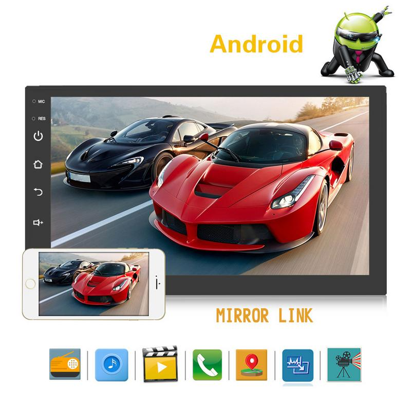 2 Din 7 Android Universal Car Radio Multimedia Player Bluetooth GPS Navigation Car Stereo Mirror Link FM Rds Wifi DAB Headunit2 Din 7 Android Universal Car Radio Multimedia Player Bluetooth GPS Navigation Car Stereo Mirror Link FM Rds Wifi DAB Headunit
