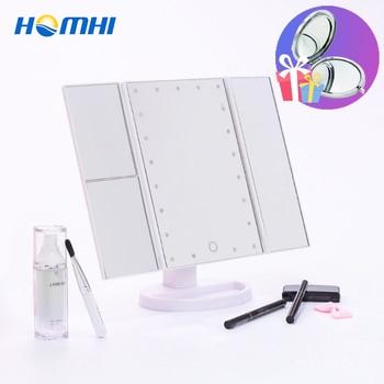 Espejo De Maquillaje Luz Lampara Lumineux De Vanidad De Luces