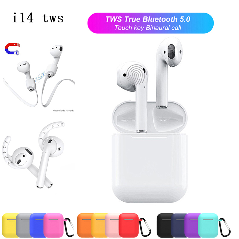 Wireless Earphone Portable Bluetooth for iPhone X 8 7 Mobile Android 1 1 14 i14 tws